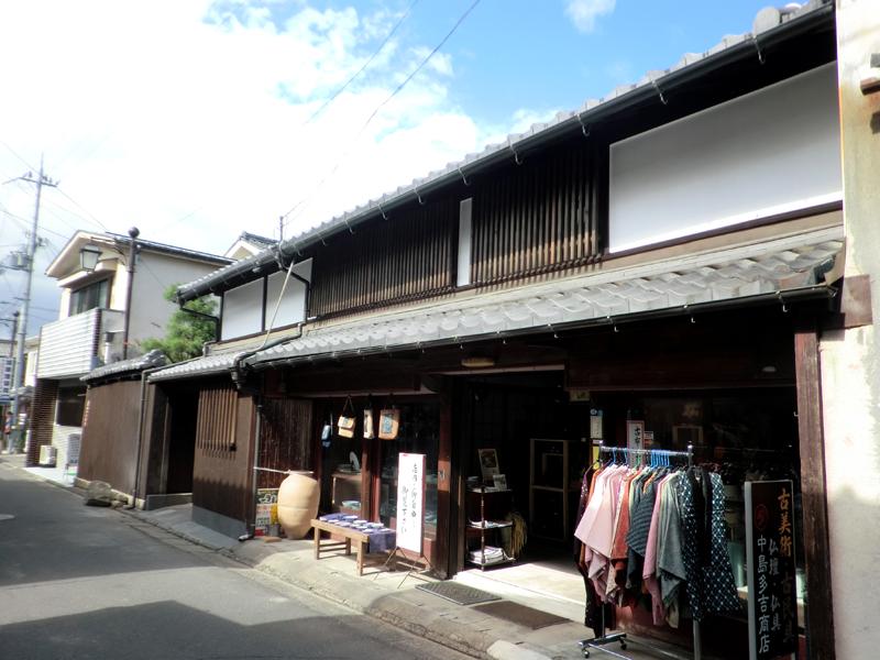 近江八幡 老舗骨董店『中島多吉商店』 外観