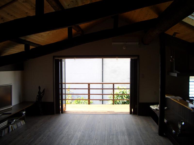 近江八幡 老舗骨董店『中島多吉商店』 2階リビング
