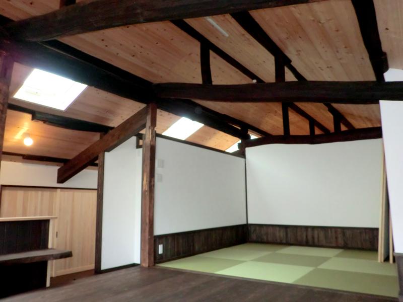 近江八幡 老舗骨董店『中島多吉商店』 2階和室