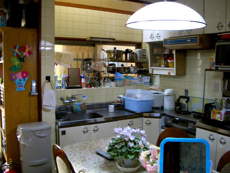 相川 A邸 before キッチン