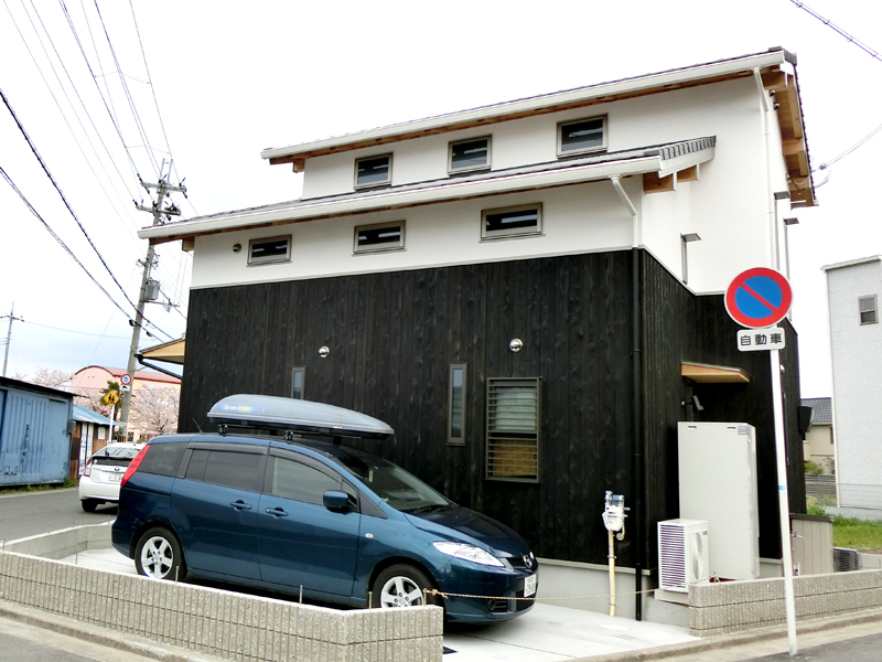 南野田 F邸『ゼロエネの家』 外観03