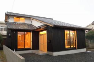 和歌山市内原 N邸『大屋根の家』 外観