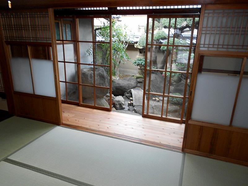 八尾 東弓削 T邸 和室