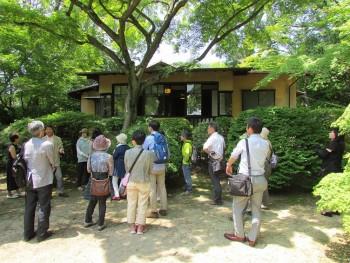 講師の林さん、聴竹居事務局の荻野さんに丁寧に解説していただきました。
