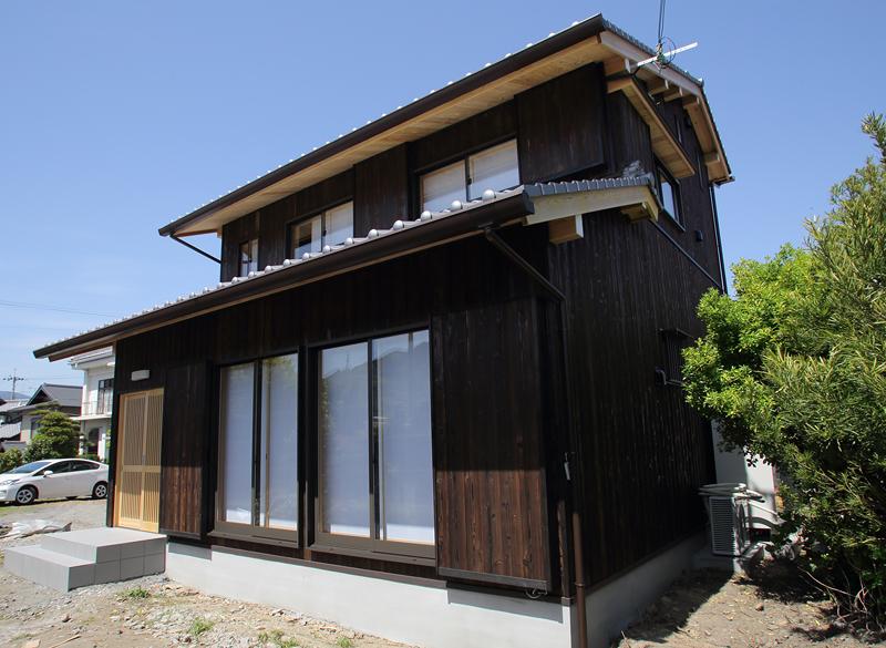 和歌山九度山 S邸『自然を感じる無垢の家』 外観