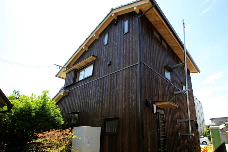 和歌山九度山 S邸『自然を感じる無垢の家』 外観02